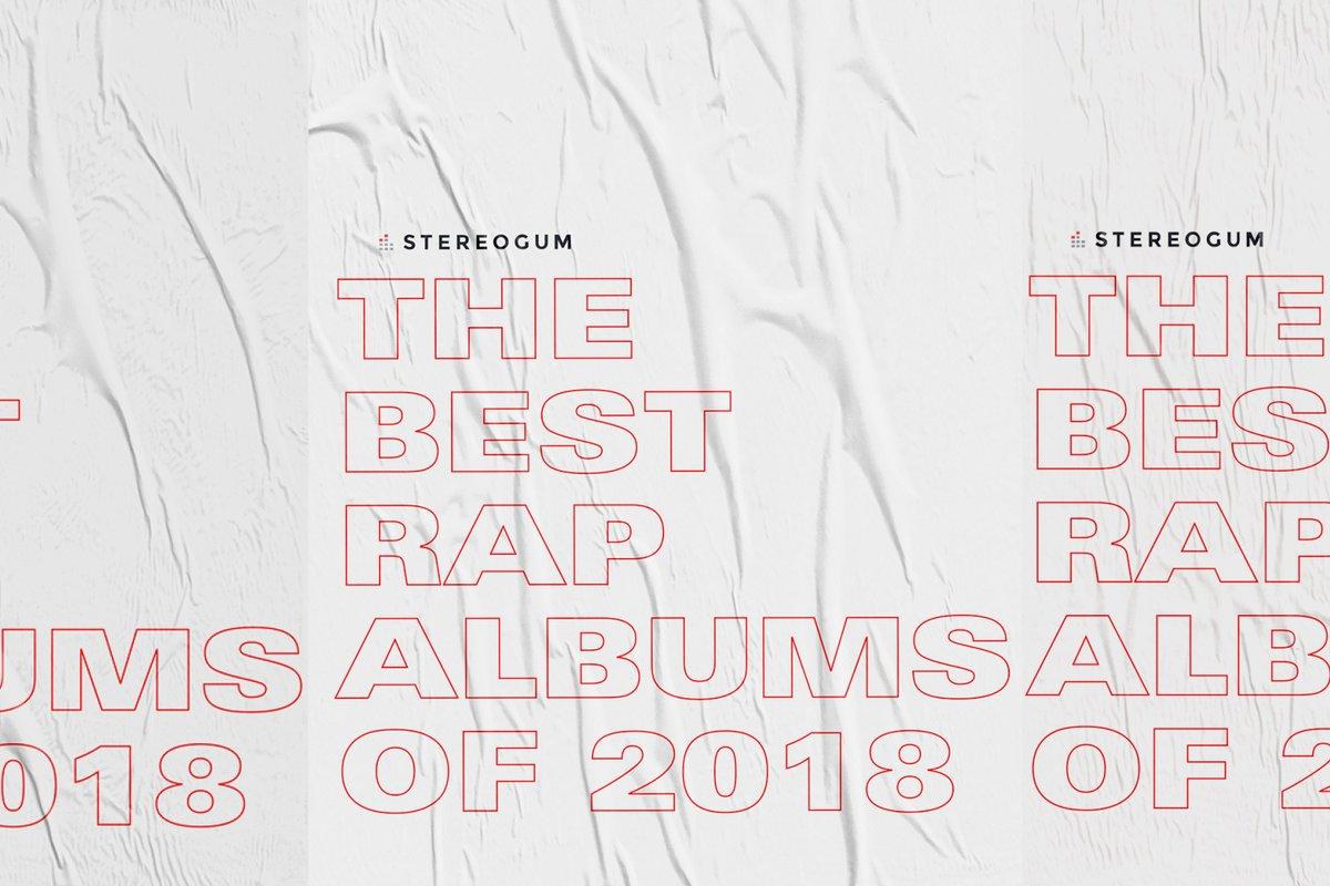 The best rap albums of 2018 gum.to/gP7Zkp