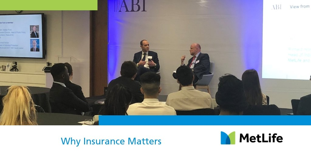 Richard Horner, MetLife UK's Head of Individual Protection speaking yesterday at a Why Insurance Matters event hosted by the Association of British Insurers. #InsuranceMatters18 https://t.co/QNBkDUehr6