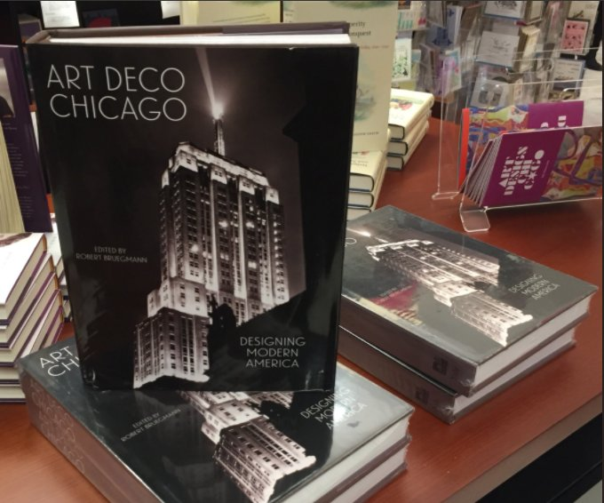As youre doing your holiday shopping, consider purchasing a copy of Art Deco Chicago: Designing Modern America! During the holiday season, a purchase from our website will also grant you a free CADS membership! Visit chicagodeco.org/store photo by @ChEyeBall #artdecochicago