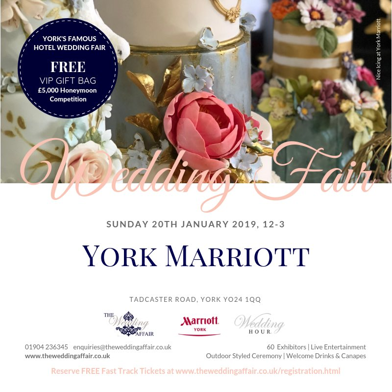 Wedding Fair York Marriott Hotel