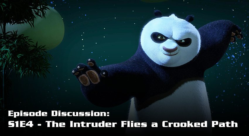 """Next episode discussion thread is up in our forums! Share your thoughts & impressions on """"The Intruder Flies a Crooked Path"""" from #KungFuPanda: The Paws of Destiny, as well as give your 1-5 ⭐️ rating for the episode. https://kungfupanda.wikia.com/d/p/3337973043036543725…"""