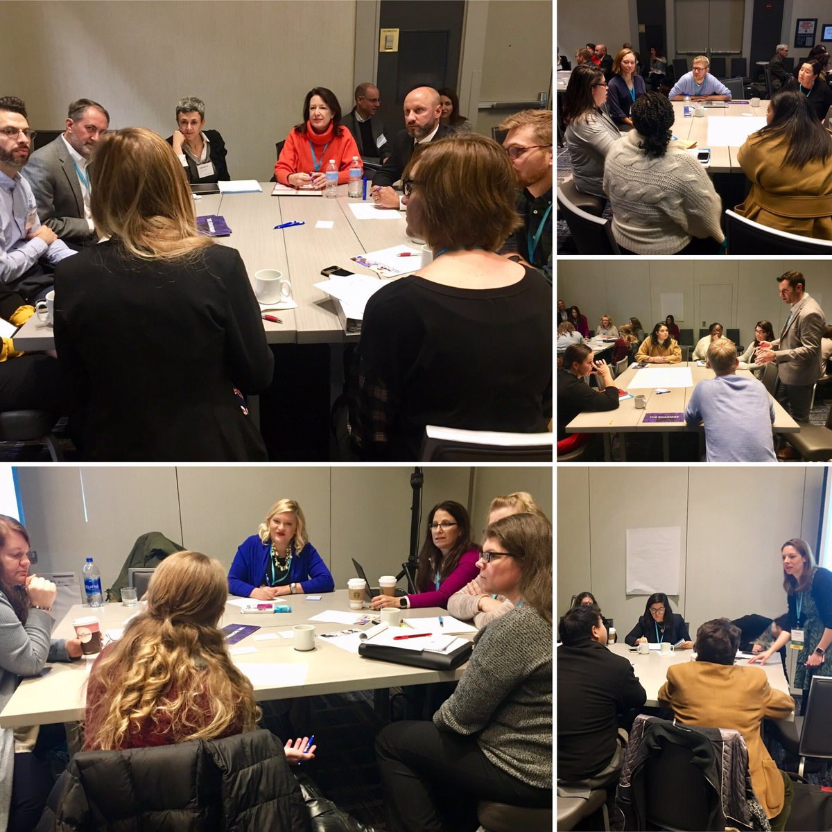 Getting down to business on #SDoH & #ComplexCare: Teams from across the country setting tangible goals & outlining actionable steps for change. #CenteringCare18 <br>http://pic.twitter.com/mvVlhBbm5K