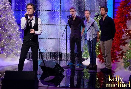 #FBF to the Marx brothers preforming 'Heard The Bells' with me on LIVE with Kelly and Michael in 2014.