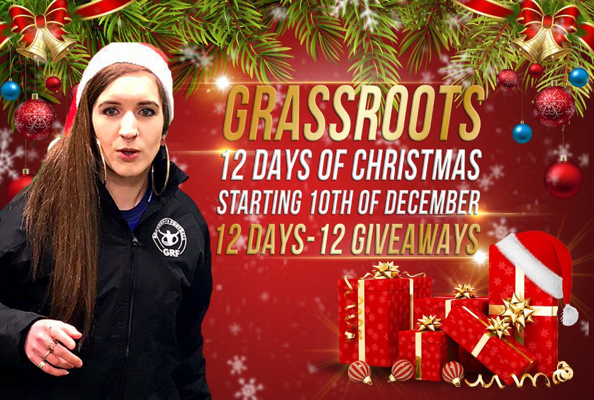 RT @FootballGrf: The Grassroots 12 Days of Christmas Giveaway  12 Days 12 Giveaways  Don't miss it. https://t.co/zkLFyOxxs3