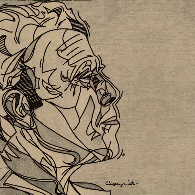 Happy Birthday to Tom Waits! New profile image created by Casey Waits.