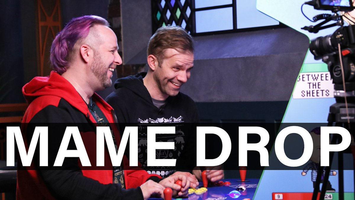 If you missed Wednesdays #EverythingIsContent: MAME Drop live stream, the YouTube VOD is here for your viewing pleasure! Dont miss @executivegoth & @VoiceOfOBriens radical retro antics on our #AllWorkNoPlay arcade cabinet! WATCH: youtu.be/ly9iqHAcT8M