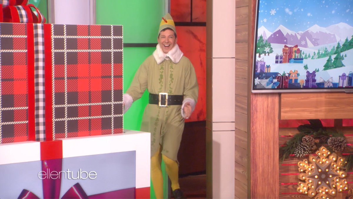 It's Day 10 of #12Days. High time @SeanHayes showed up. ellentube.com/12days