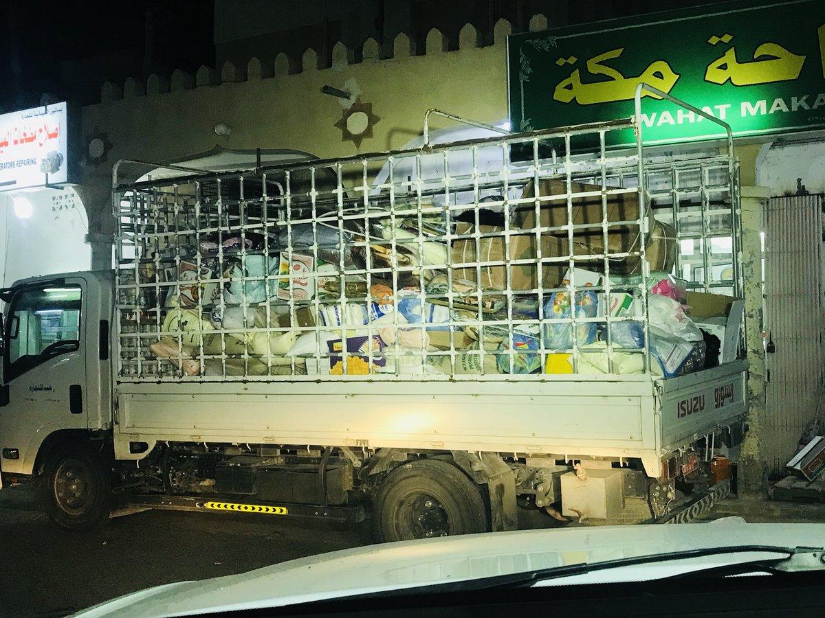 #عمان_التي_نريد إلى اصحاب الأيادي البيضاء من بهلا ستتحرك غدا شاحنة المساعدات الى اليمن ولكنها لم تكن بما توقعنى الدال على الخير كفاعله  سوق بهلاء الشاحنه واقفه مقابل برادات واحة مكه خالد الوردي