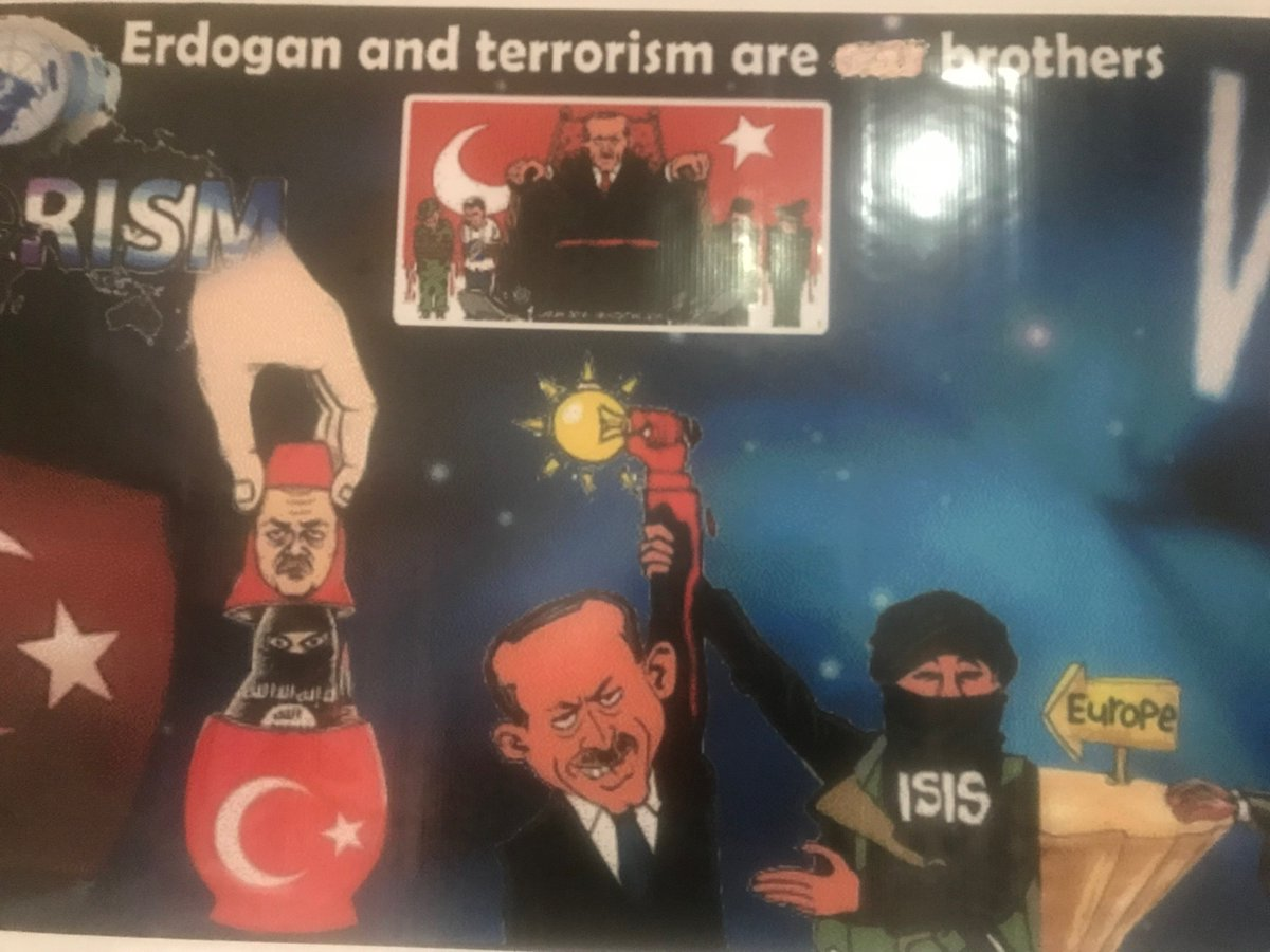 Kurds and other Northern Syrians believe &quot;#Erdogan and #ISIS are brothers.&quot;<br>http://pic.twitter.com/a2J9hWW51w