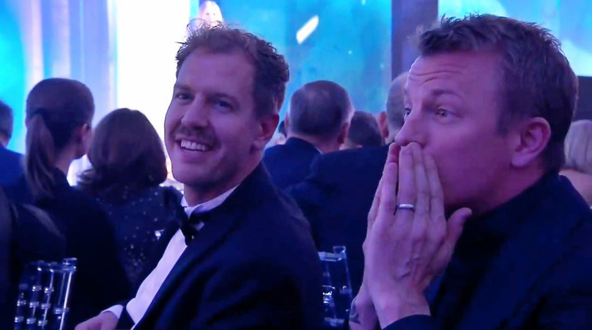 Kimi's best moments at the FIA gala! (VIDEO)