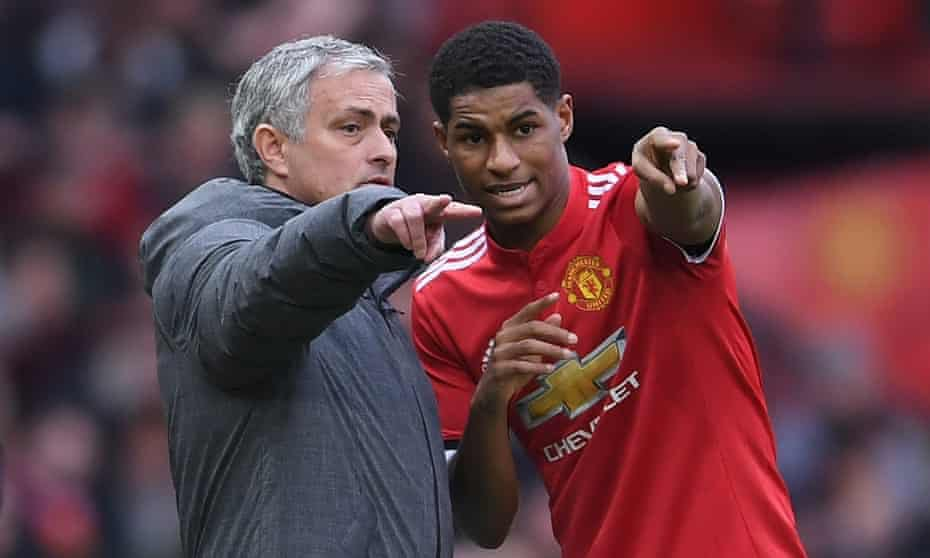 """Mourinho: """"There are special players with special characteristics and just to give you a couple of examples, Herrera, Rashford are the kind of players that, even if their game is not phenomenal, that intensity, that desire, that sacrifice is always present."""" #MUFC"""