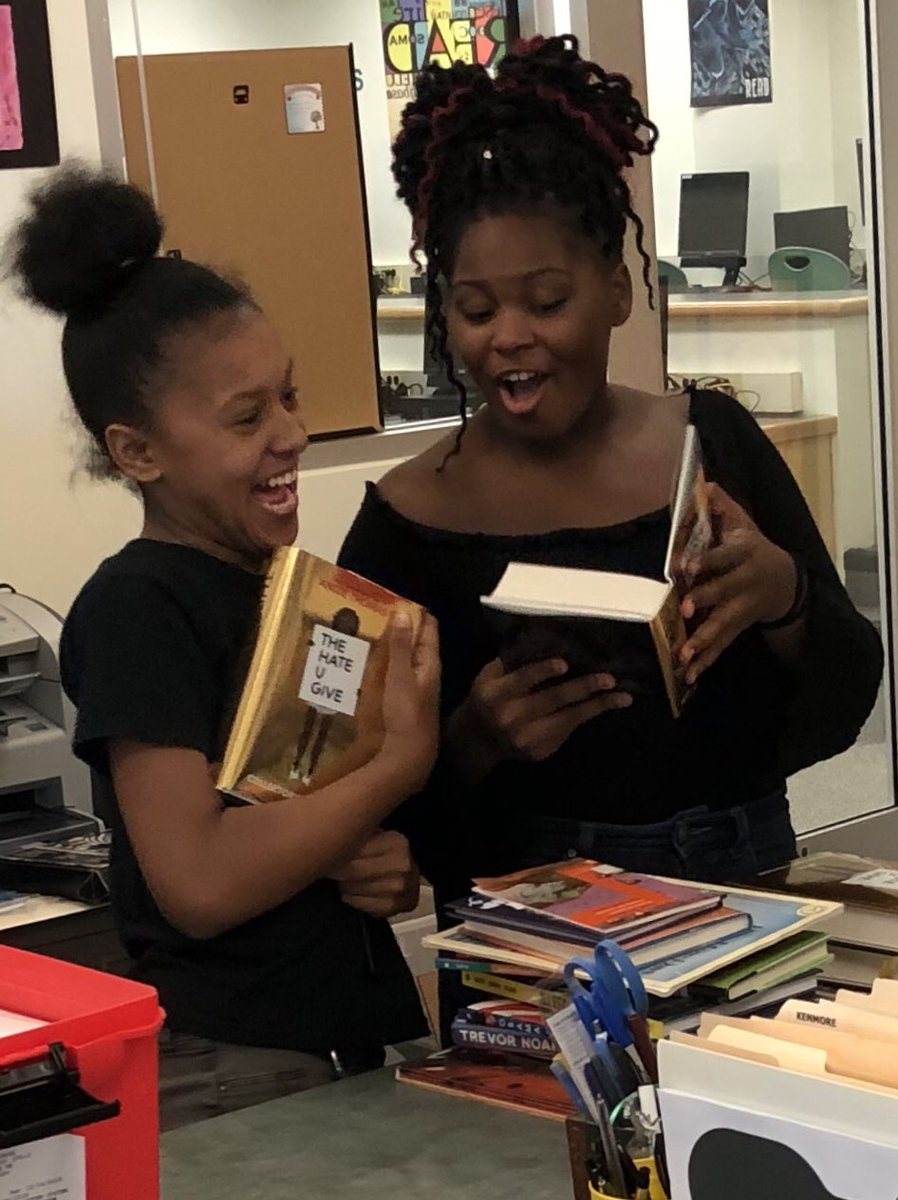 Happiness is getting this response when book club members receive their <a target='_blank' href='http://twitter.com/TheHateUGive'>@TheHateUGive</a> collector's edition!!!!  <a target='_blank' href='http://twitter.com/angiecthomas'>@angiecthomas</a> <a target='_blank' href='http://search.twitter.com/search?q=DiversityMatters'><a target='_blank' href='https://twitter.com/hashtag/DiversityMatters?src=hash'>#DiversityMatters</a></a> <a target='_blank' href='http://search.twitter.com/search?q=KenmoreReads'><a target='_blank' href='https://twitter.com/hashtag/KenmoreReads?src=hash'>#KenmoreReads</a></a> <a target='_blank' href='http://twitter.com/APSKenmore'>@APSKenmore</a> <a target='_blank' href='http://twitter.com/KMSReadingRocks'>@KMSReadingRocks</a> <a target='_blank' href='https://t.co/Fsgt2Gfr4o'>https://t.co/Fsgt2Gfr4o</a>