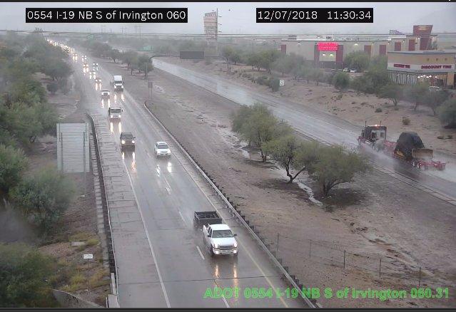 Rain on I-19 in Tucson #Tucson