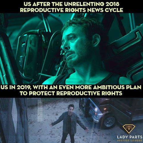 When the world needs heroes... #AvengersEndGame #EndGame #DailyTakedown ladypartsjusticeleague.com/we-prefer-not-…