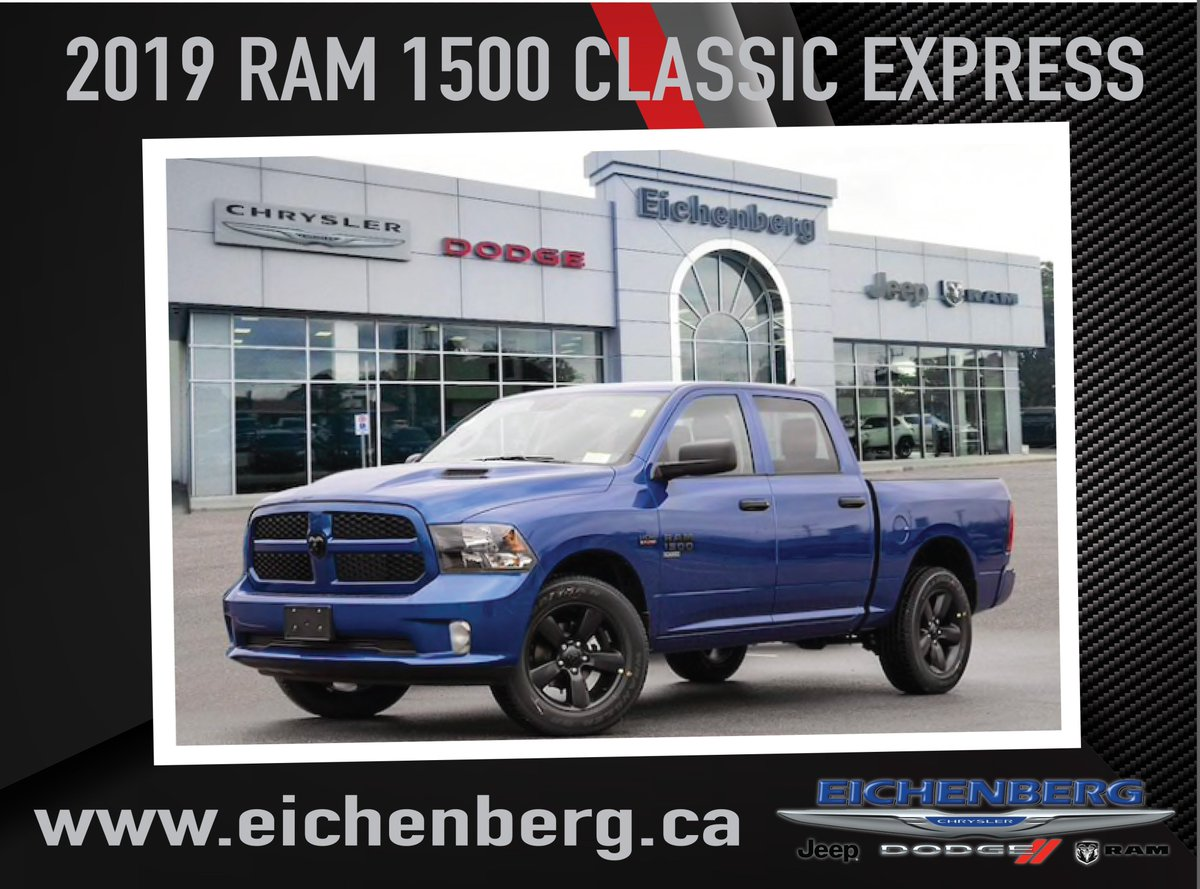 Eichenberg Chrysler On Twitter 2019 Ram 1500 Classic Express Crew Cab 5 7l Hemi V8 The Best Holiday Ever Sales Event Special Includes Mopar Tonneau Cover Step Boards All Weather Slush Mats Bug