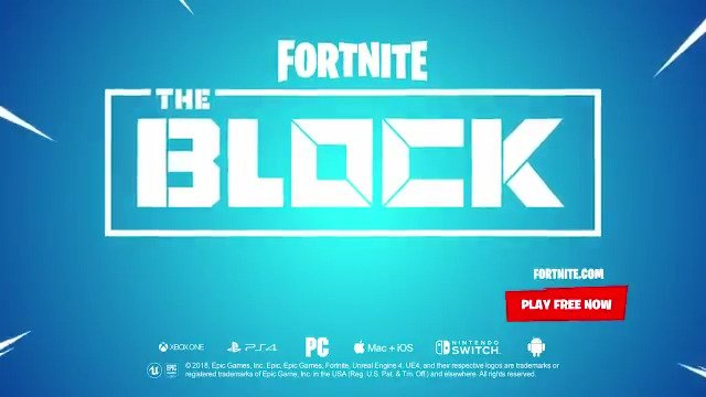 Well feature the best creations built in #FortniteCreative with everyone in Battle Royale on The Block! Have you been making some out of this world content? Submit your creations using #FortniteBlockParty 🔗: epicgames.com/fortnite/news/…