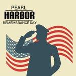 Image for the Tweet beginning: #NationalPearlHarborRemembranceDay