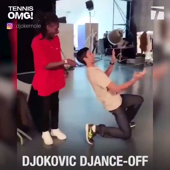 What do @DjokerNole and A. Zverev do in the offseason? Heres a hint... 🕺🏻🕺🏻🕺🏻 #TennisOMG