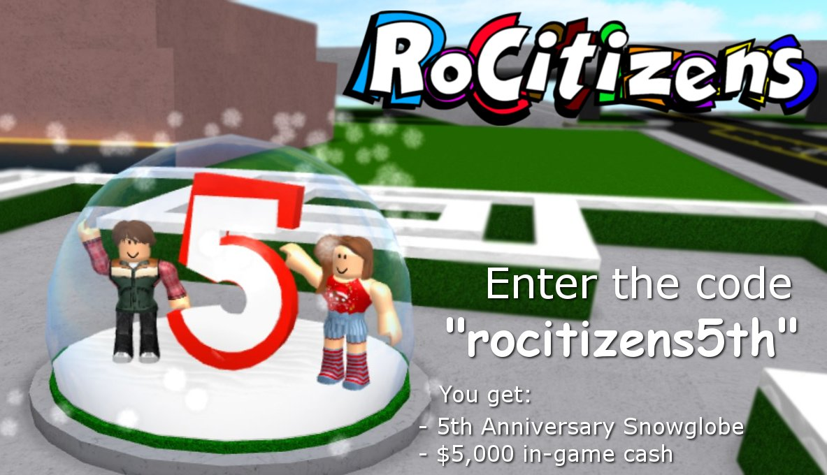 Roblox Rocitizens Codes December 2018 How To Get Free - codes for roblox rocitizens 2019 april