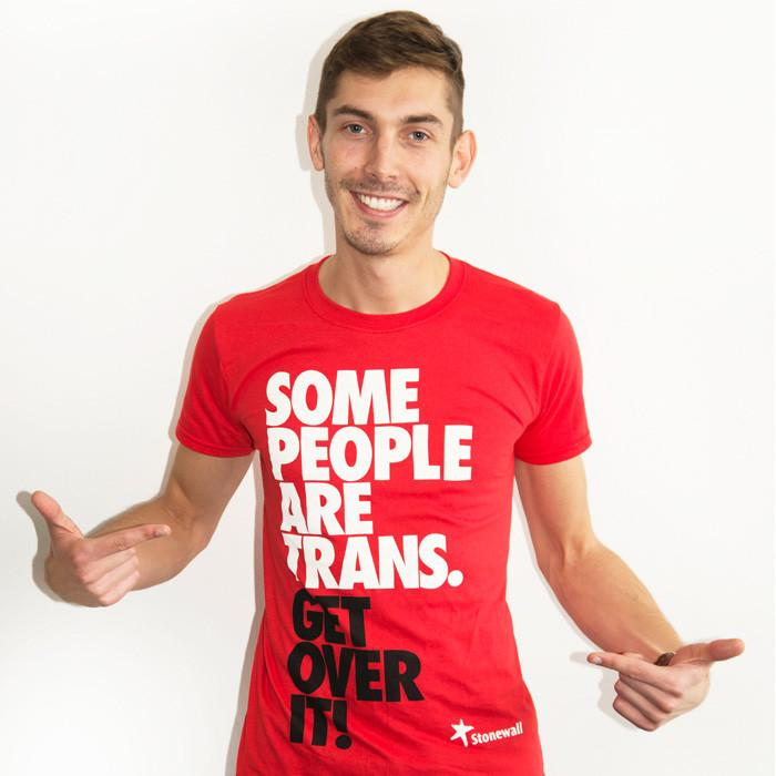 Wear it with Pride! We're offering FREE UK postage on all Stonewall merch until 17 December. Use discount code FREEPOST18 at checkout. Happy Holidays from Stonewall! http://www.stonewall.org.uk/shop