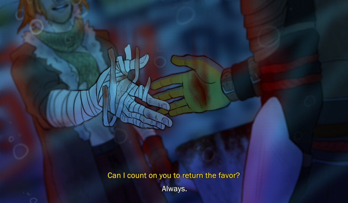 injury // So, like, that was an excuse to draw hands, right? #CriticalRole #criticalrolefanart