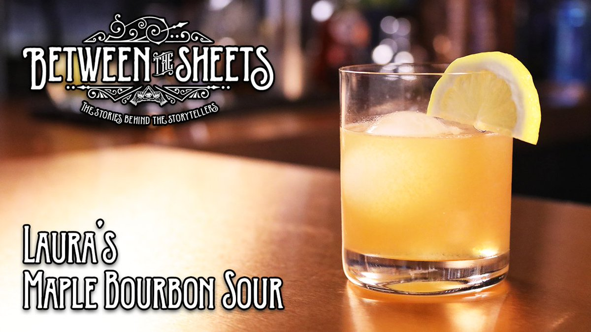Learn how to make Lauras Maple Bourbon Sour from @BrianWFoster, host of #BetweenTheSheets! WATCH: youtu.be/oC-tvSnpRrM #StayTurnt responsibly and be sure to check out the full episode, feat. a one-on-one interview with @LauraBaileyVO at: youtu.be/kjuSZYsuP-I