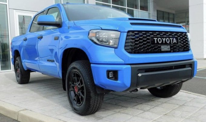 #SeduceMeIn4Words Toyota Tundra TRD Pro 🚙😍🥰 Photo