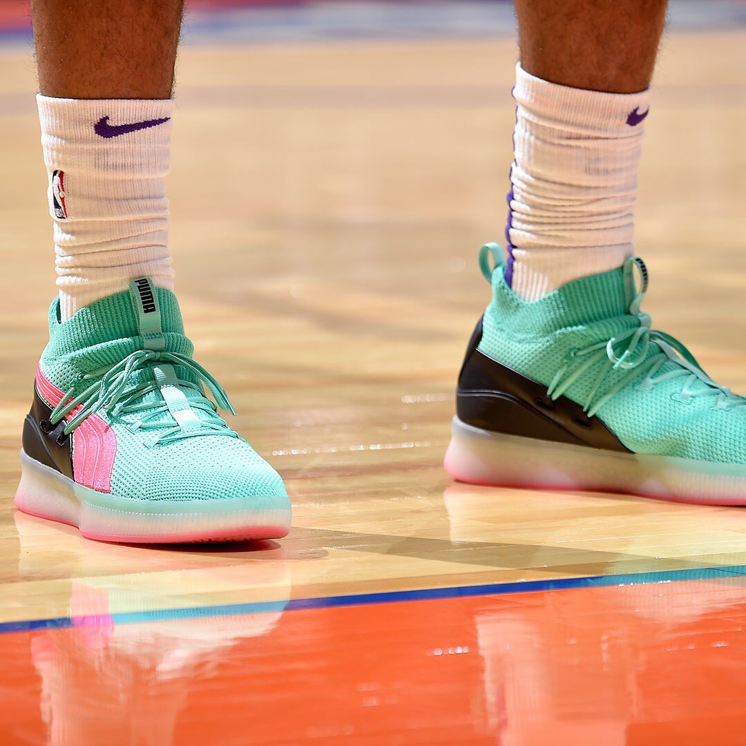 "new style 05096 6cfc5 mb3five debuting the Puma Clyde Court ""Ocean Drive"" tonight ..."