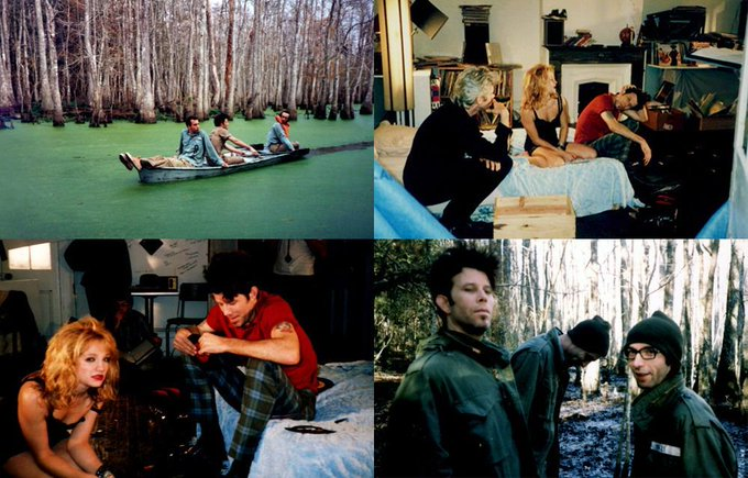 Happy birthday Tom Waits, seen here in some behind the scenes photos from Jim Jarmusch\s Down By Law!