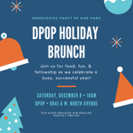Image for the Tweet beginning: DPOP Holiday Brunch tomorrow!