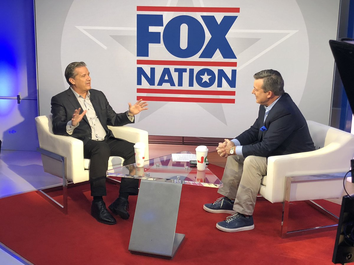 Spent time today with friends from Fox and CNN, so no one can get mad at me!! @edhenry @ScottJenningsKY
