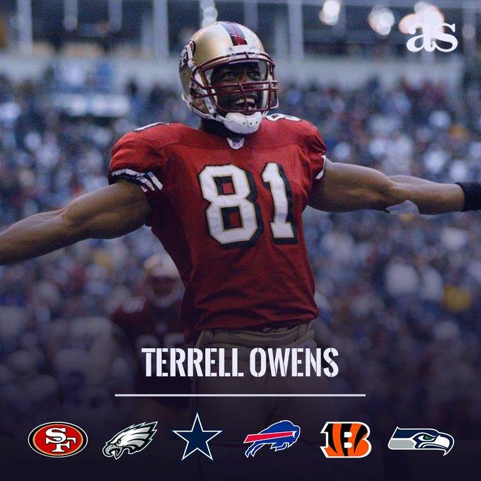 HAPPY BIRTHDAY El exreceptor de la NFL, Terrell Owens, cumple 45 años de edad.