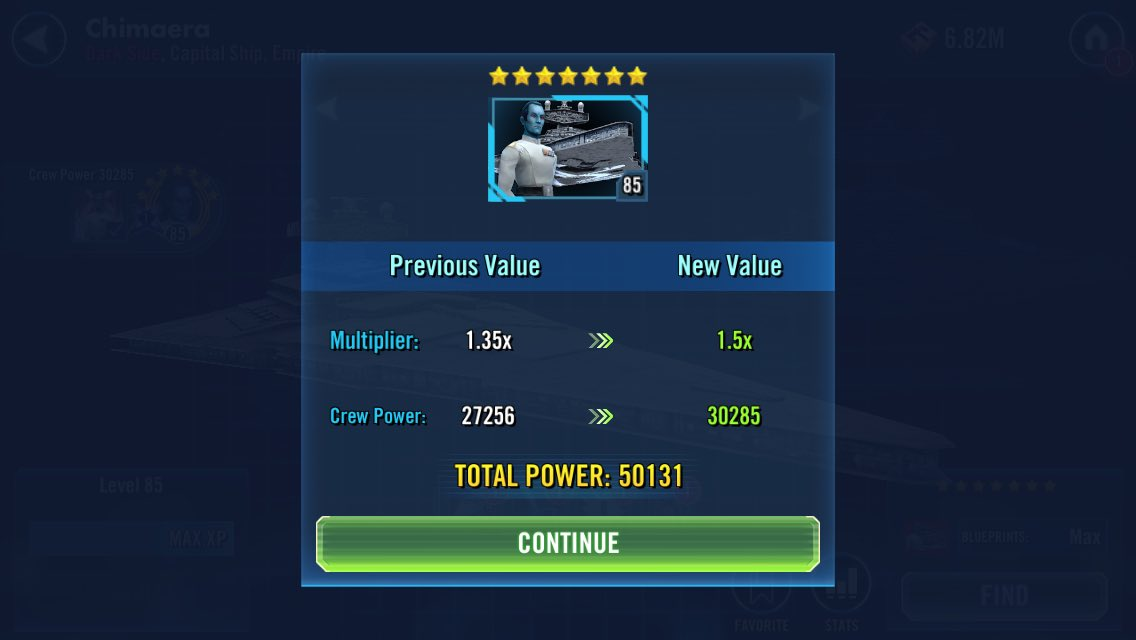 Took long enough #SWGOH #StarWarsGalaxyofHeroes
