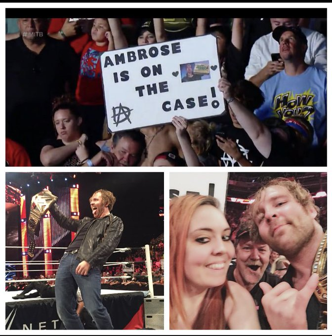 Happy Birthday to my favorite wrestler and person Dean Ambrose
