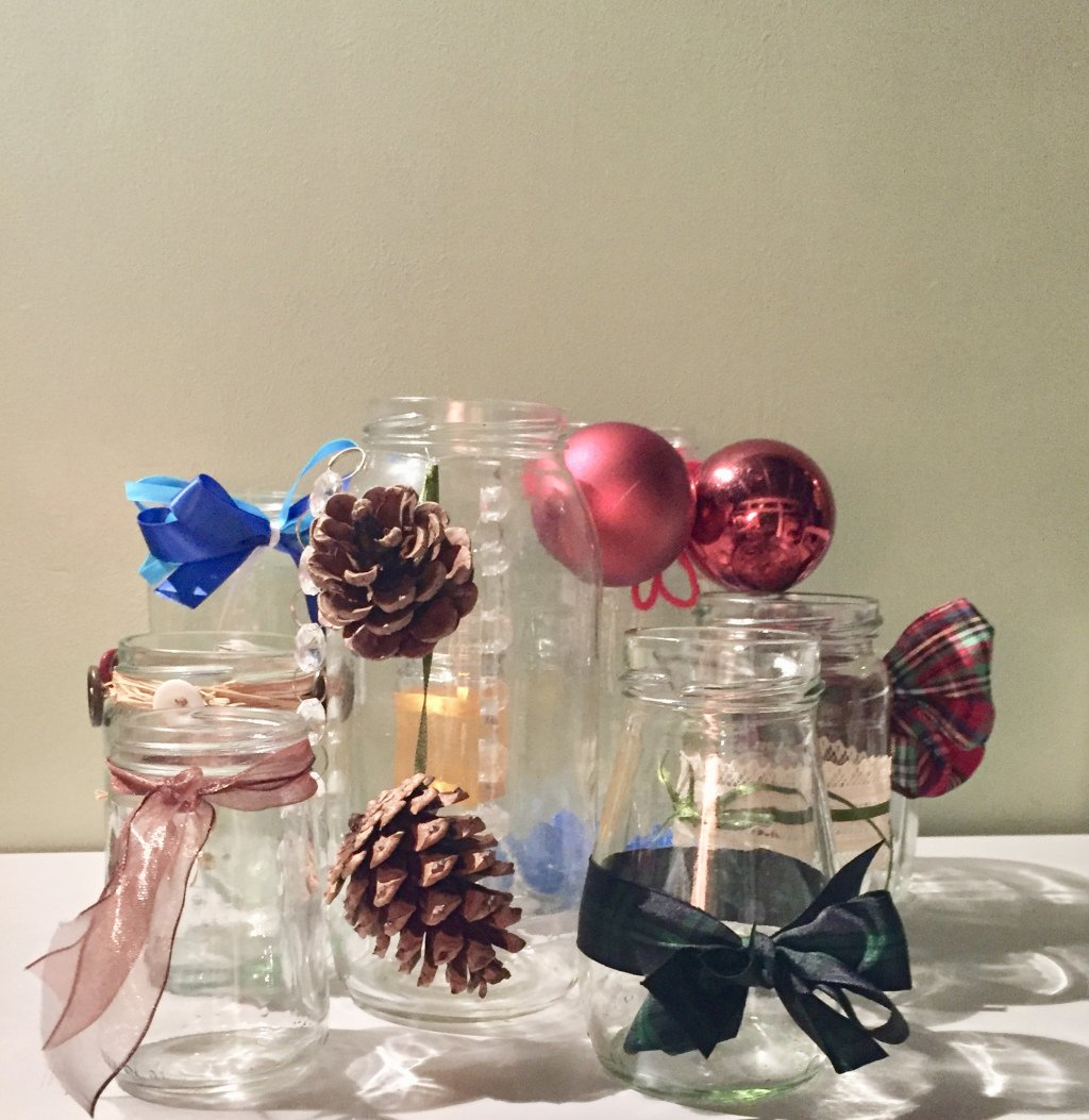 neil bain on twitter decorating jam jars for nafas floral