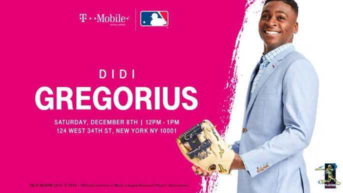Sir Didi Gregorius On Twitter New York Head To The
