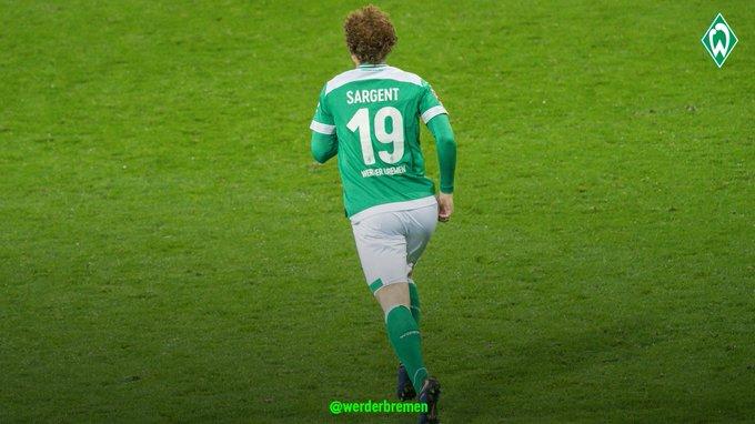 Josh Sargent: Bundesliga goalscorer ⚽ #werder #SVWF95 Foto