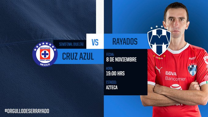 #CruzAzulVsRayados Photo