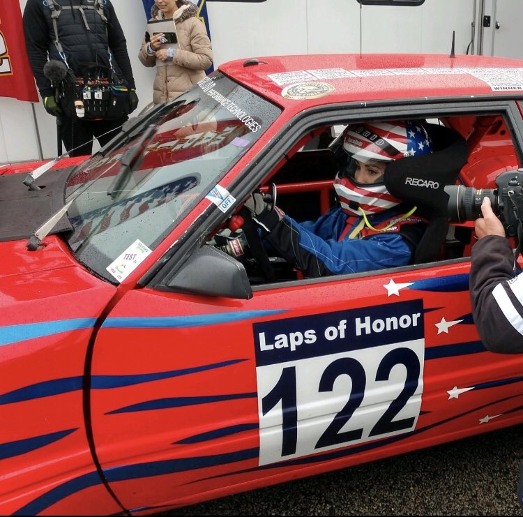 Go time! FOR CHARLIE KEATING🇺🇸 http://myusvc.com/raceevent.html #LapsofHonor