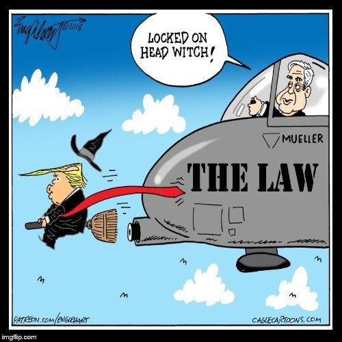 Individual-1 is the Head Witch in the witch hunt #TheResistance #MAGA #Trump #Resist #ImpeachTrump #TrumpCrimeFamily