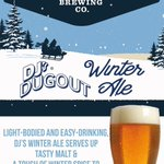 Introducing, DJ's Dugout's NEW Winter Ale from @LuckyBucketBrew!