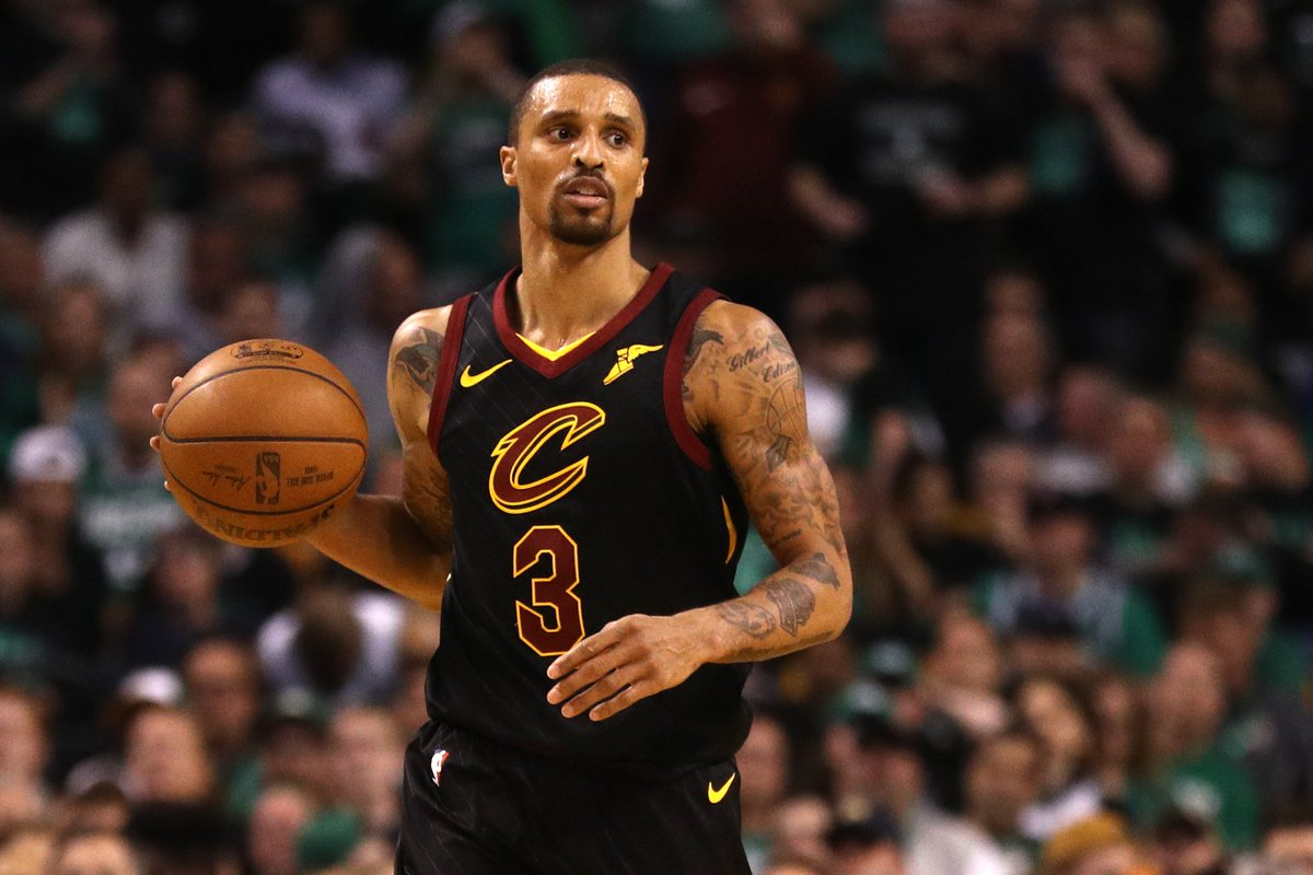 The Bucks are reportedly trading Matthew Dellavedova, John Henson and a first-round and future second-round pick to Cleveland for George Hill, per @wojespn.