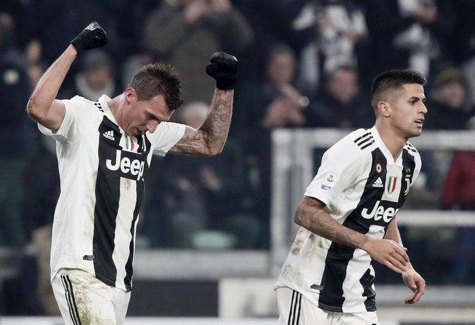 Poco se habla de Mario Mandzukic en esta #SerieA con la #Juventus: 7 goles y 2 asistencias en 12 partidos. El croata aparece en los grandes partidos, metió contra el AC Milan, Inter, Napoli y Lazio. Photo