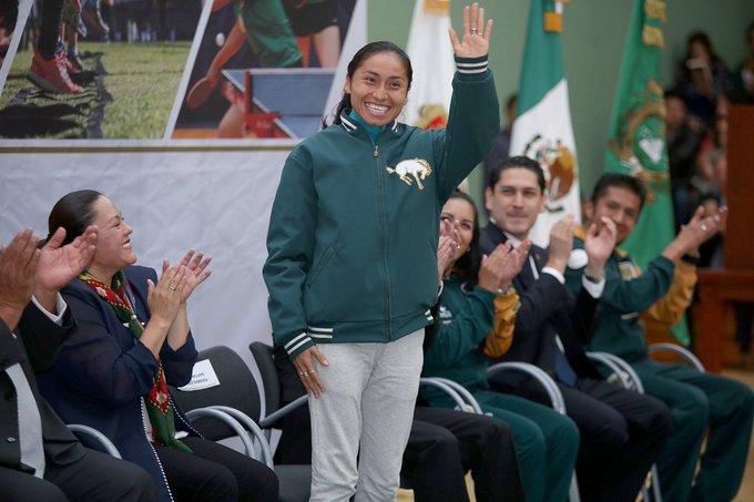 #PorSiNoLoViste Lupita González, medallista mexicana en Río 2016, dio positivo por dopaje y afrontará una suspensión de hasta cuatro años que la dejaría fuera de Tokio 2020. Foto