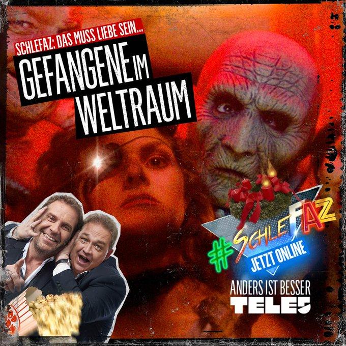 Jetzt auch online in der @tele5 Mediathek! #SchleFaZ: Gefangene im Weltraum Foto