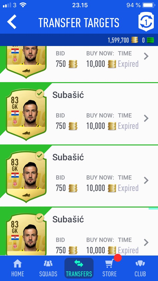 Stock up for futmas if your gonna mass invest in golds/Informs