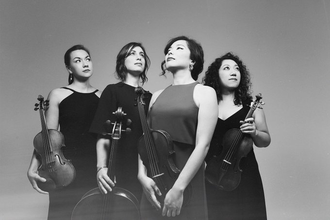 SO this happened today. My sister, brilliant cellist Karen Ouzounian from @aizuriquartet and @afarcrymusic has been nominated for TWO Grammy awards for best chamber music. Check out and I could not be more proud!!! Photo