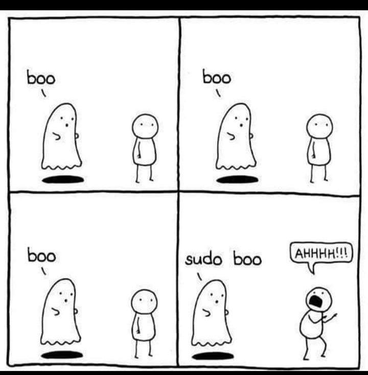 🤣🤣🤣 #bash #GNU #Linux #sudo #shell @nixcraft