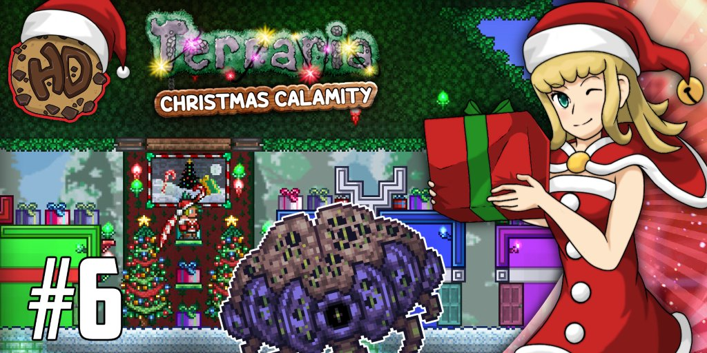 Terraria Christmas.It S Time To Build An Epic Christmas Base In Our Terraria