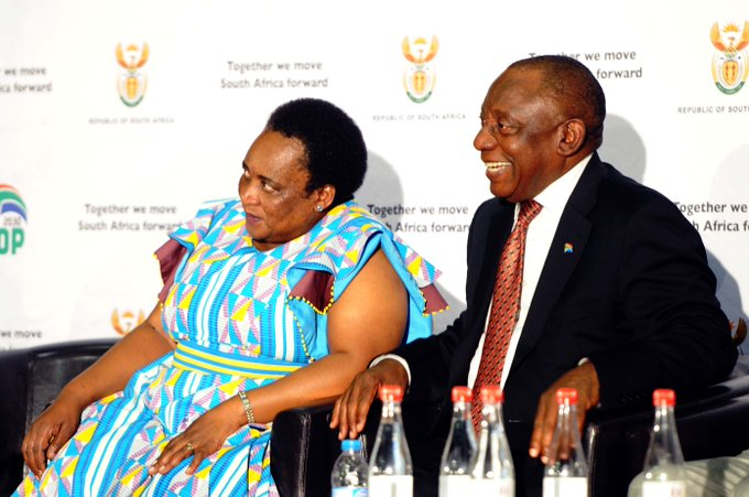 [Read] The proclamation of the long awaited #NationalMinimumWage is a victory for workers, said President @CyrilRamaphosa Photo